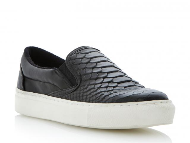 Dune-putney-black-snake-shoes-trainers