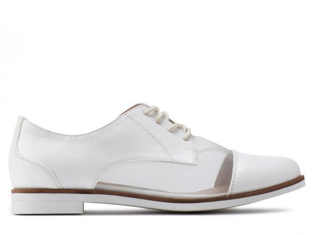 Harmes-debenhams-white-flat-shoes