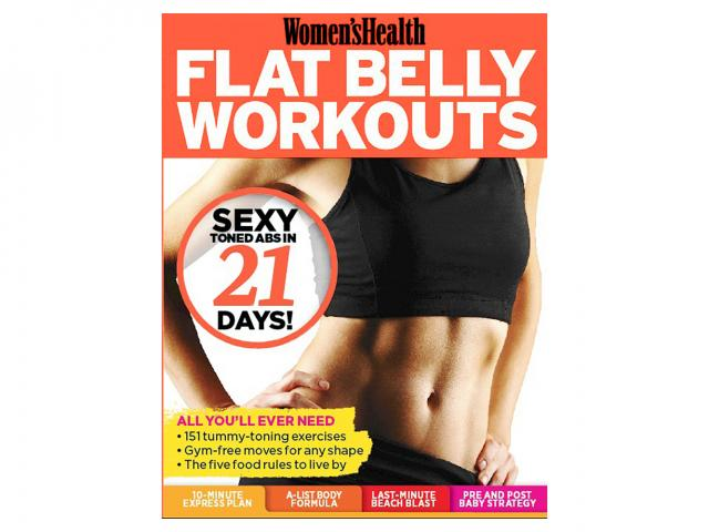 Wh flat belly workouts cover