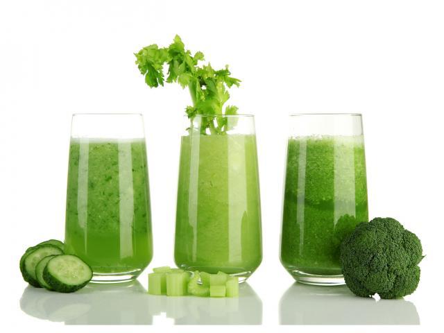 Shutterstock green juices