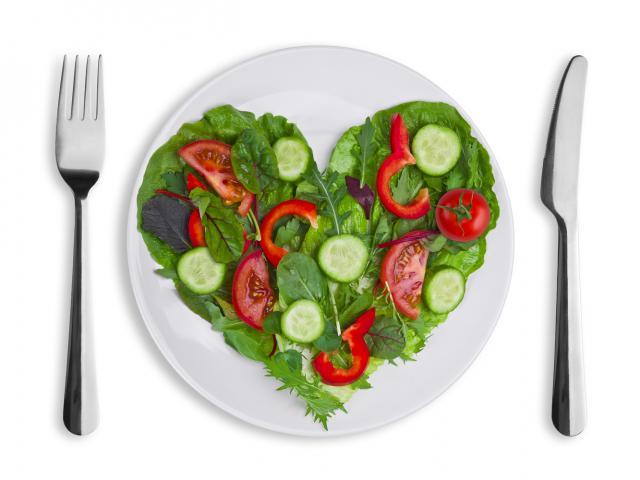 Shutterstock heart shaped food on plate