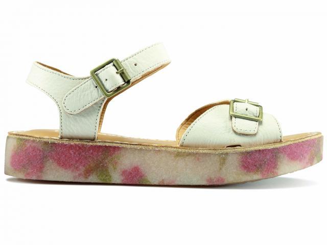 Clarks-floral-white-sandal