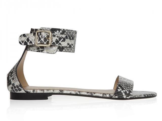 Kurt-geiger-snake-sandal