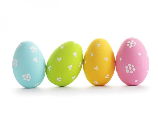 easter eggs shutterstock