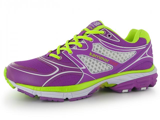 Karrimor-purple-neon-trainers