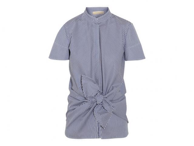 Vanessa-bruno-blue-striped-shirt