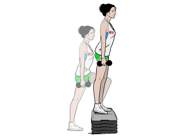 How To Do: A Dumbbell Step-up