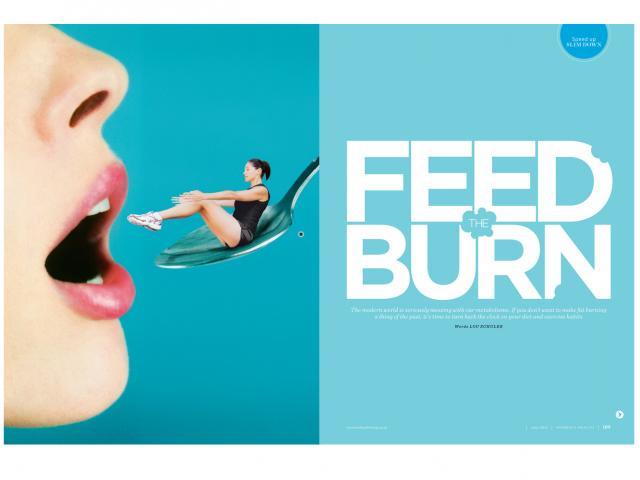 Feed the burn
