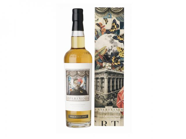 Compass box entertainer scotch whisky 700ml 84.99