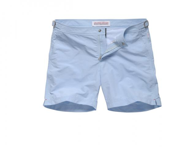 Orlebar brown bulldog swim short in sky 135