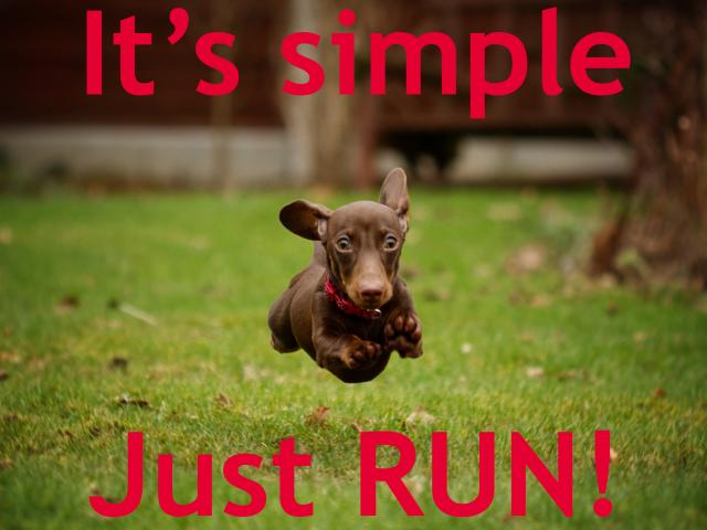 Its-simple-just-run