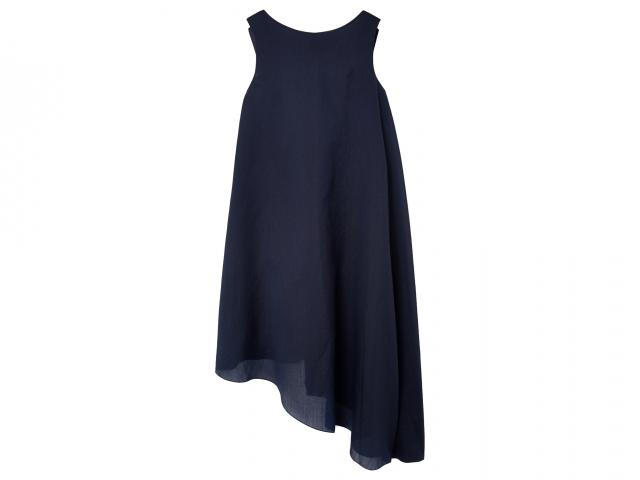 Cos-navy-waterfall-dress