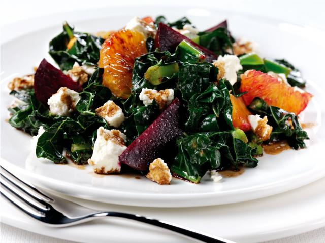 Kale  beetroot salad