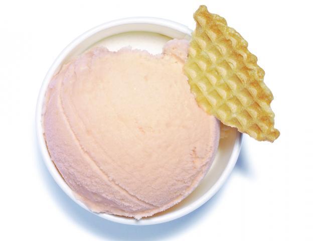 Ice-cream-peach