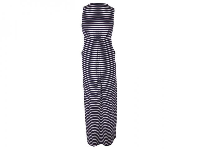 Jersey-stripe-maxi-dress