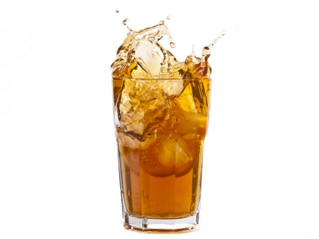 Iced-tea-splash-glass