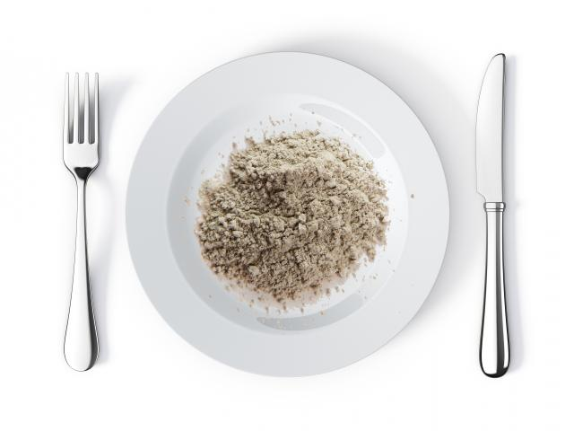 Clay-diet-clay-on-plate-shutterstock