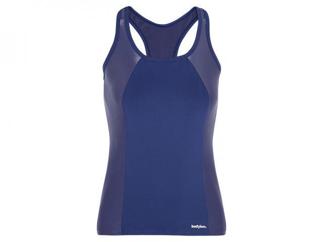 Blue bodyism tank