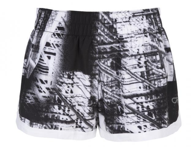 Gap grey patterned workout shorts