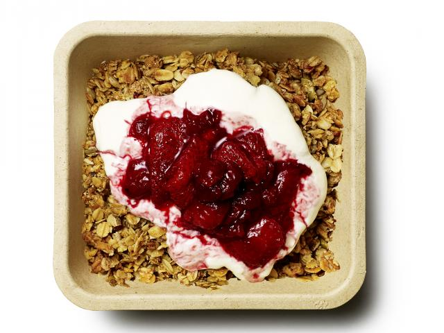 Strawberry-cherry-compote-granola