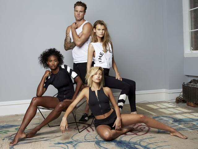 The upside campaign shot models group