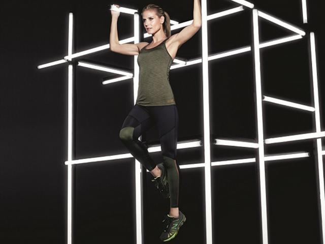 Heidi klum new balance