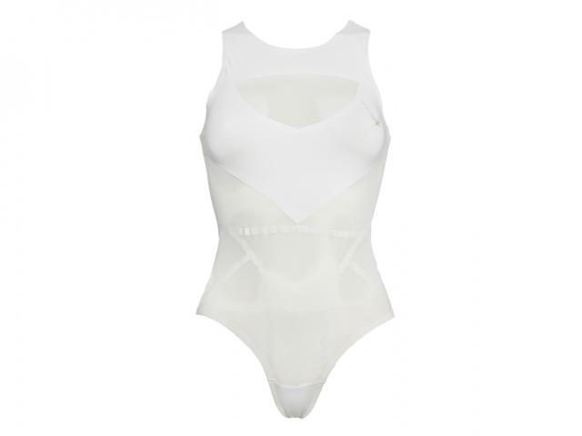 Isis bodysuit white front