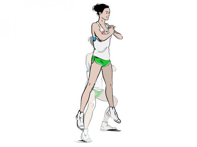 Extreme squat jump