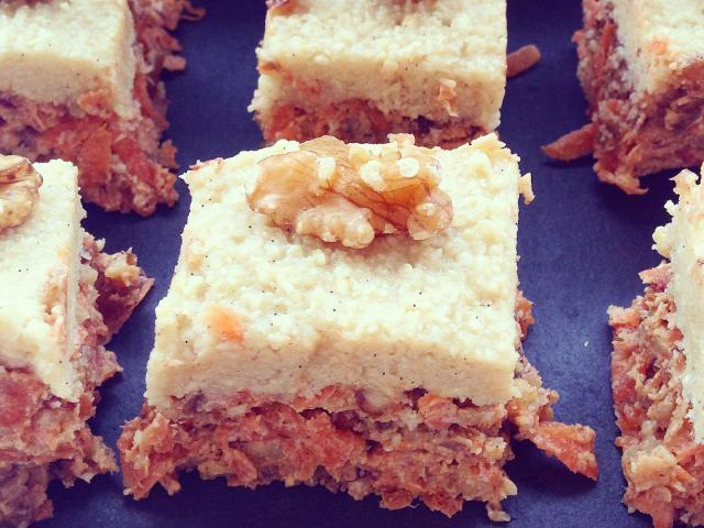 Carrot Cake Recipe Uk Healthy: Healthy Raw Carrot Cake Recipe