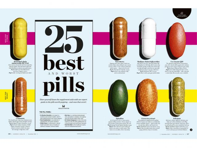 25 best and worst pills