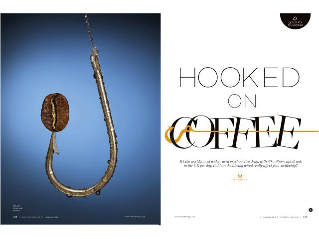 Hooked on coffee