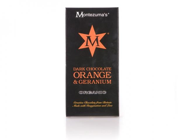 Montezuma orange and geranium