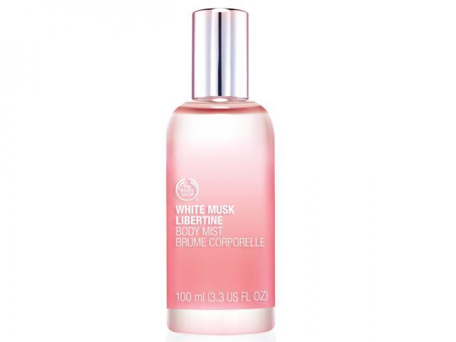 The body shop white musk fragrance body mist