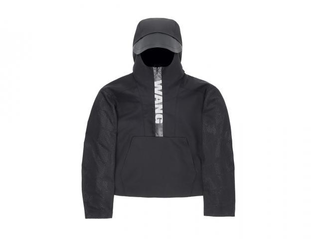 Wang hoodied jacket