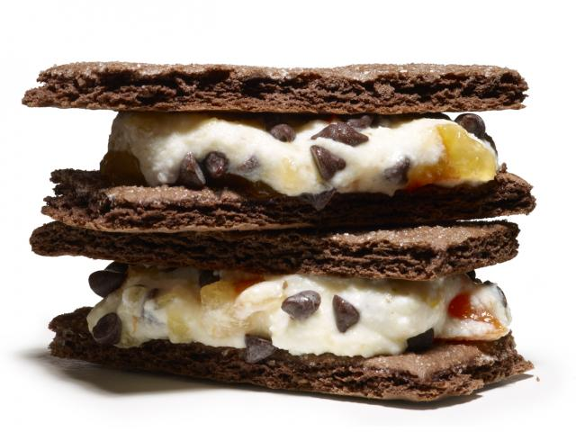 Chocolate surprise sandwiches