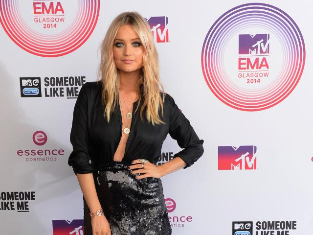 Laura whitmore mtv emas 2014
