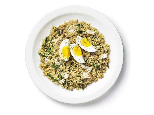 Calming kedgeree recipe