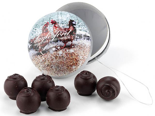 Daylesford chocolate truffle bauble