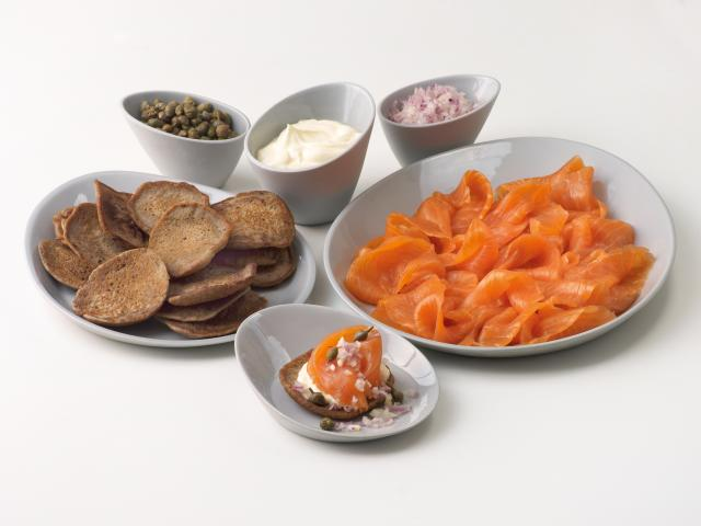 Smoked salmon kit forman and field
