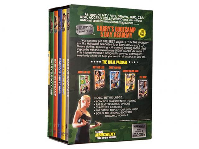 Barrys bootcamp dvd