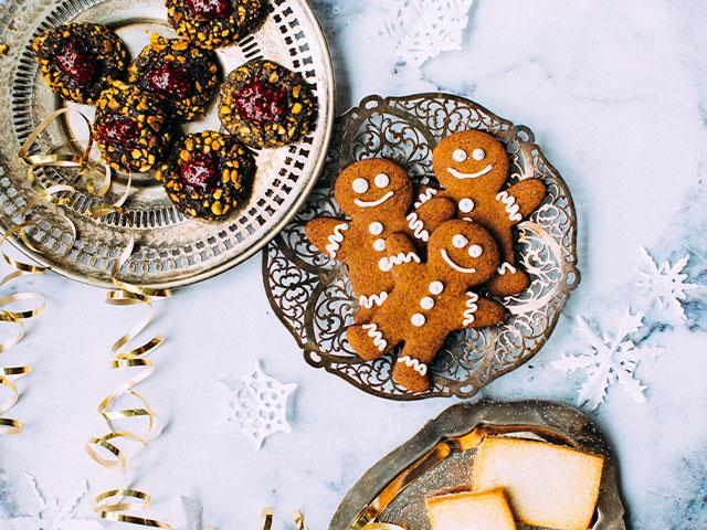 gingerbread men healthy christmas recipes womens heath uk