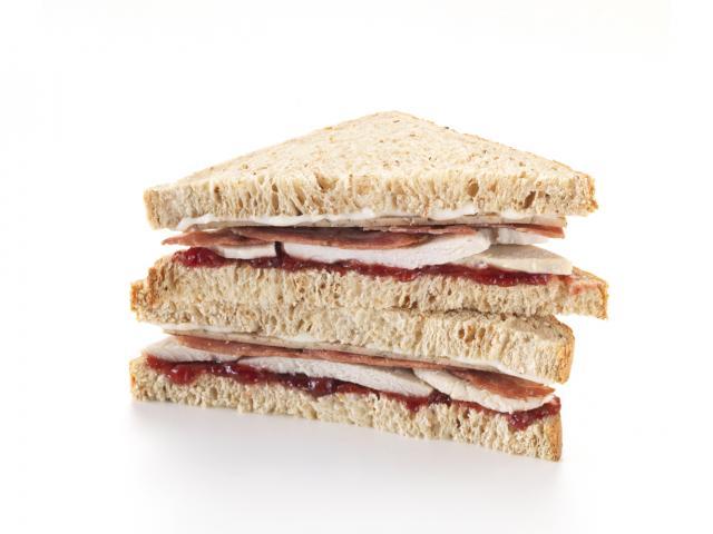 Festive sandwich