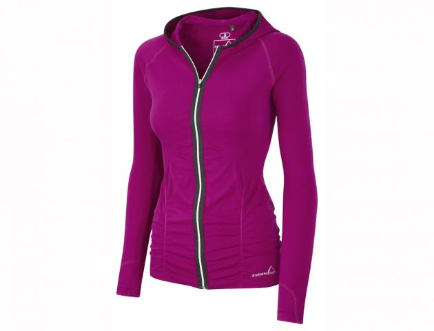 Striders edge autumn winter 2013 c map hoody raspberry fuschia front