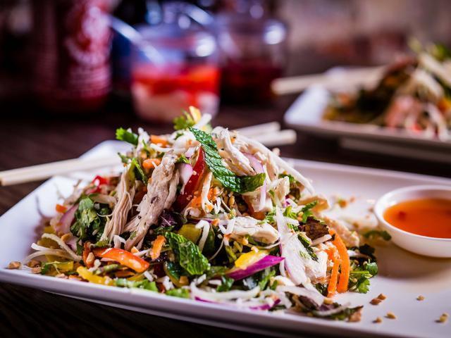 Asian chicken salad  medium 4x3