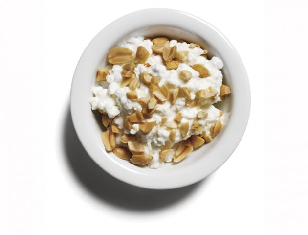 Cottage cheese and peanuts - snack - issue 1