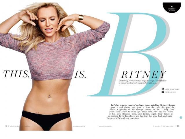 Britney spears cover interview