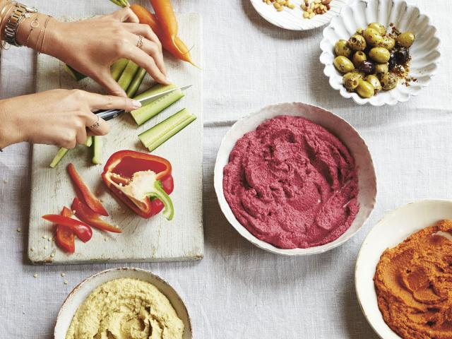 Deliciously ella new cook book - three types of hummus-healthy recipes - womens health uk