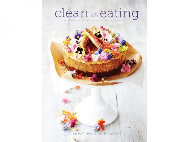 Clean eating book cover