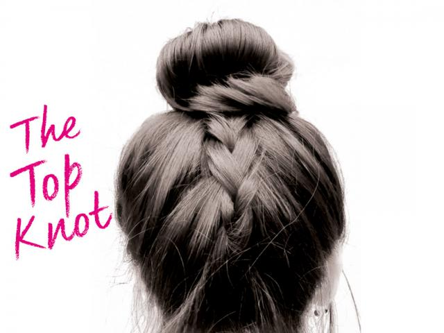 Best Post Gym Hairstyles   The Low Plait Top Knot   Taylor Taylor   Womens  Health
