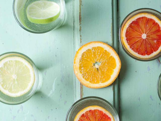 Healthy intentions for the week - lemon water - womens health
